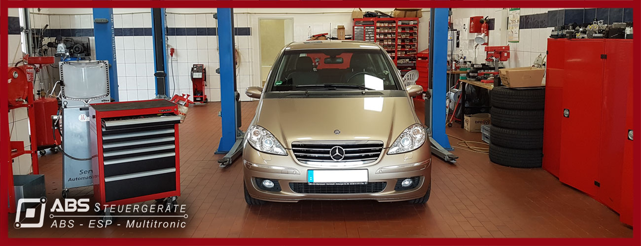 Mercedes-W 414-Waehlhebel-Schaltkulisse-Reparatur